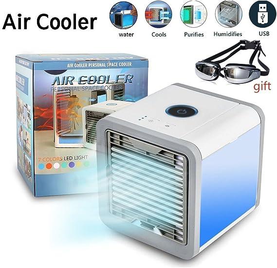Ventilador Aire Fr¨ªo Enfriador Espacio Personal Refrigerador ...