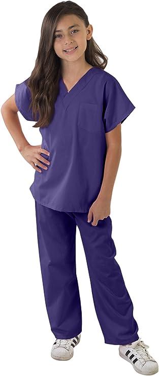 Amazon.com: Natural Uniforms - Juego de uniforme para hacer aseo para niños (tacto suave): Clothing
