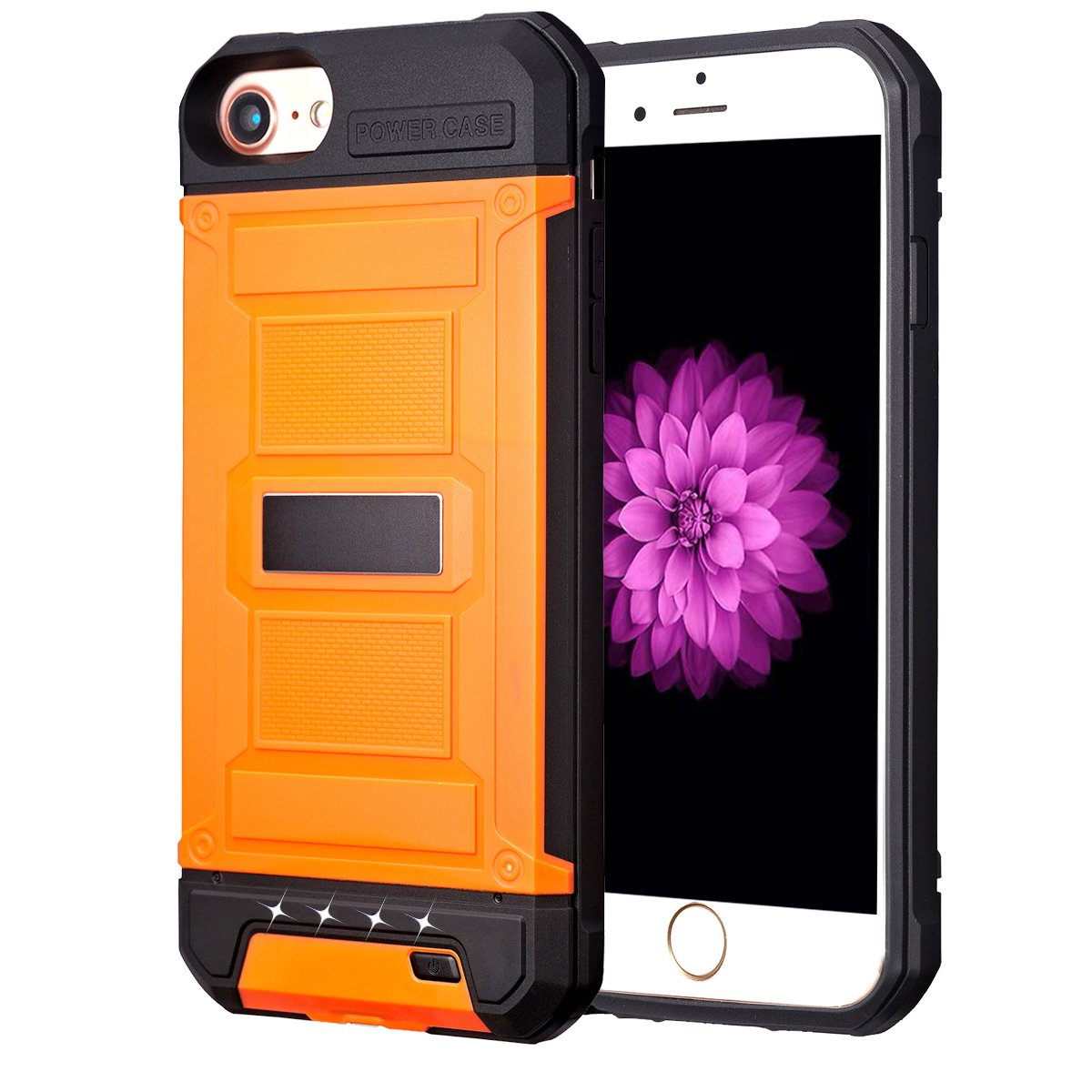 low priced 1666b cf09f [Upgrade] iPhone 8/7/6S/6 Battery Case SUNWELL Charger Case for iPhone  8/7/6/6S