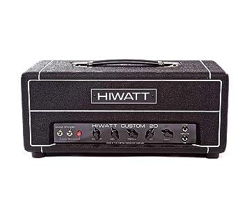 Hiwatt Custom 20H Clase tienda de encargo de la lámpara principal amplificador de guitarra de 20 W: Amazon.es: Instrumentos musicales
