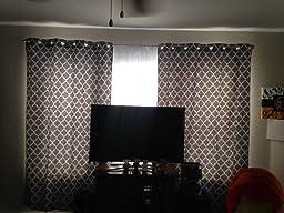 Amazon.com: Meridian Gray Grommet Room Darkening Window