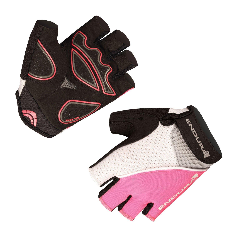 Endura Womens Xtract Mitt Cycling Glove Hi Viz Pink, Large