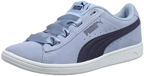 Puma Vikky Ribbon Jr, Zapatillas para Niñas: Amazon.es: Zapatos y complementos