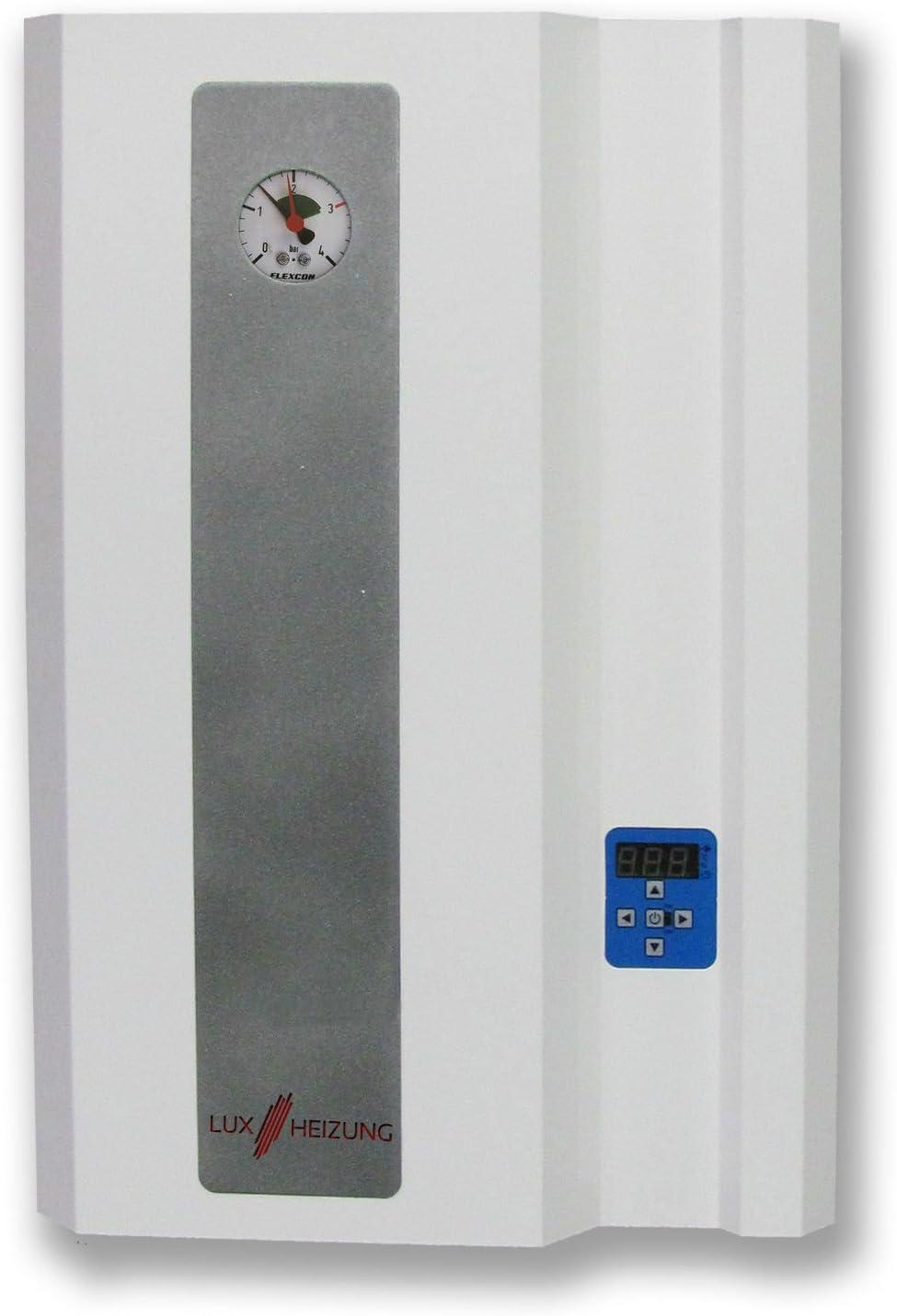 Calentador de calderas Heiztherme 9kW mercurio eléctricos de calefacción sistema eléctrico-calefacción central - hervidor de agua eléctrico LUXHEIZUNG