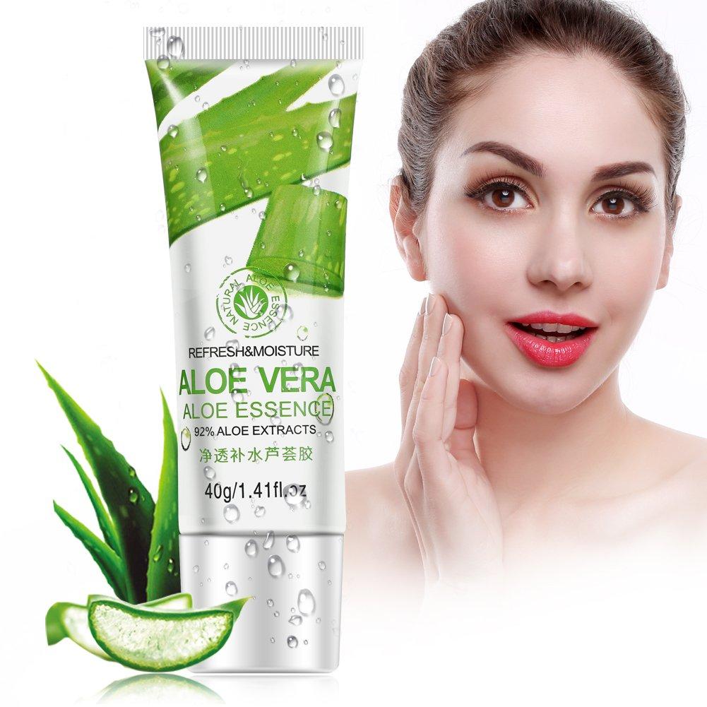 BIOAQUA Aloe Vera Gel Acido Ialuronico Antirughe Sbiancante Idratante Cura Della Pelle Crema Viso Zerone