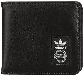 in vendita f022f bd6cd adidas, Portafoglio Adicolor in Pelle, Nero (Black/Running ...