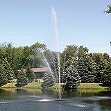 Scott Aerator Clover Big Shot Fountain - 1 1/2 HP, 230 Volt, 100-Ft. Power Cord, Model Number 13002