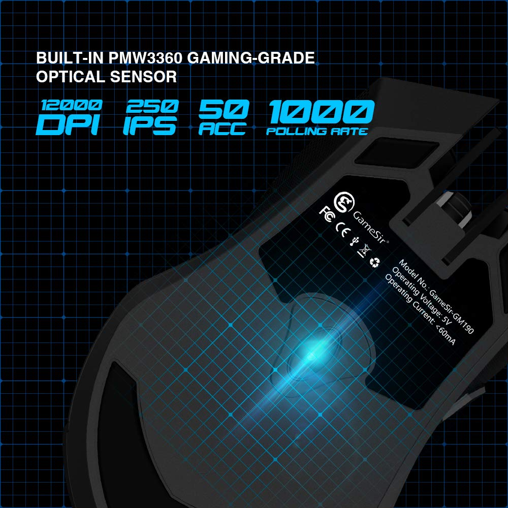APEX Game Keyboard and Mouse for Xbox One, PS4, Switch, PS3, PC GameSir VX  AimSwitch E-Sports Adapter Keypad and Mouse Combo