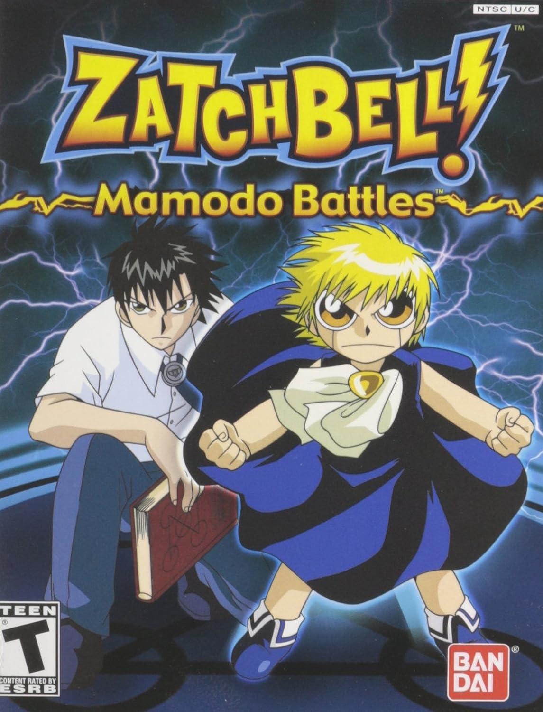 Amazon.com: Zatchbell Mamodo Battles - PlayStation 2: Artist ...