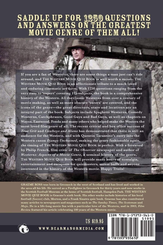 The Western Movie Quiz Book: Graeme Ross: 9781593935610: Amazon com
