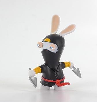 Figura Raving Rabbids Regreso al Pasado Ninja: Amazon.es ...