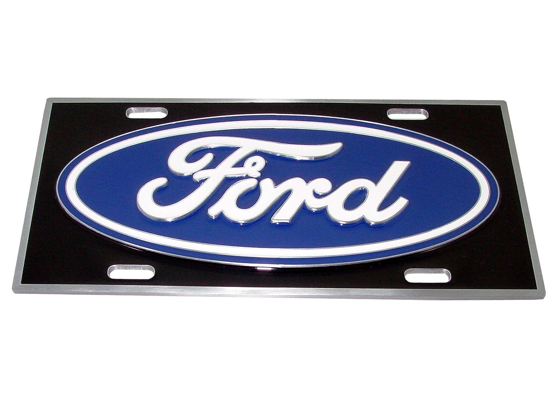 Siskiyou SSP338 Ford Oval License Plate
