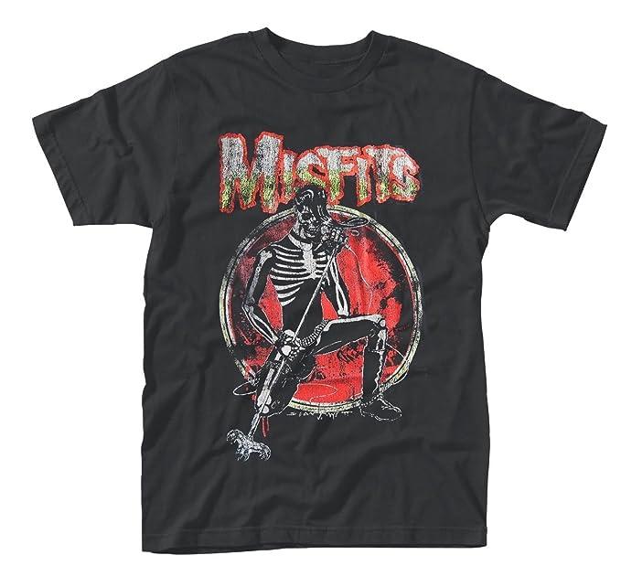 Desconocido Hombre Misfits Camiseta Skeleton Ropa Amazon es Y vwrSv
