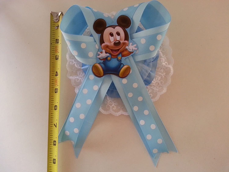 Amazon.com: Baby Shower de Mickey Mouse Mamá a ser it s a ...