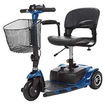 Amazon.com: Patinete de 3 ruedas., Azul: Health & Personal Care