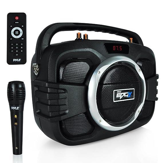 Review Pyle Bluetooth Karaoke Boombox