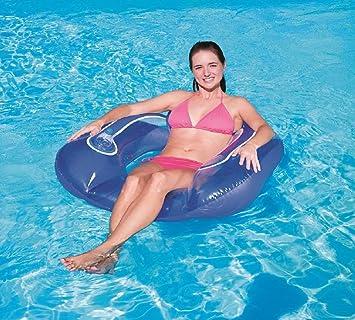 Adult Lounge Stuhl Schwimmt Auf Wasser Umweltschutz Pvc Aufblasbare