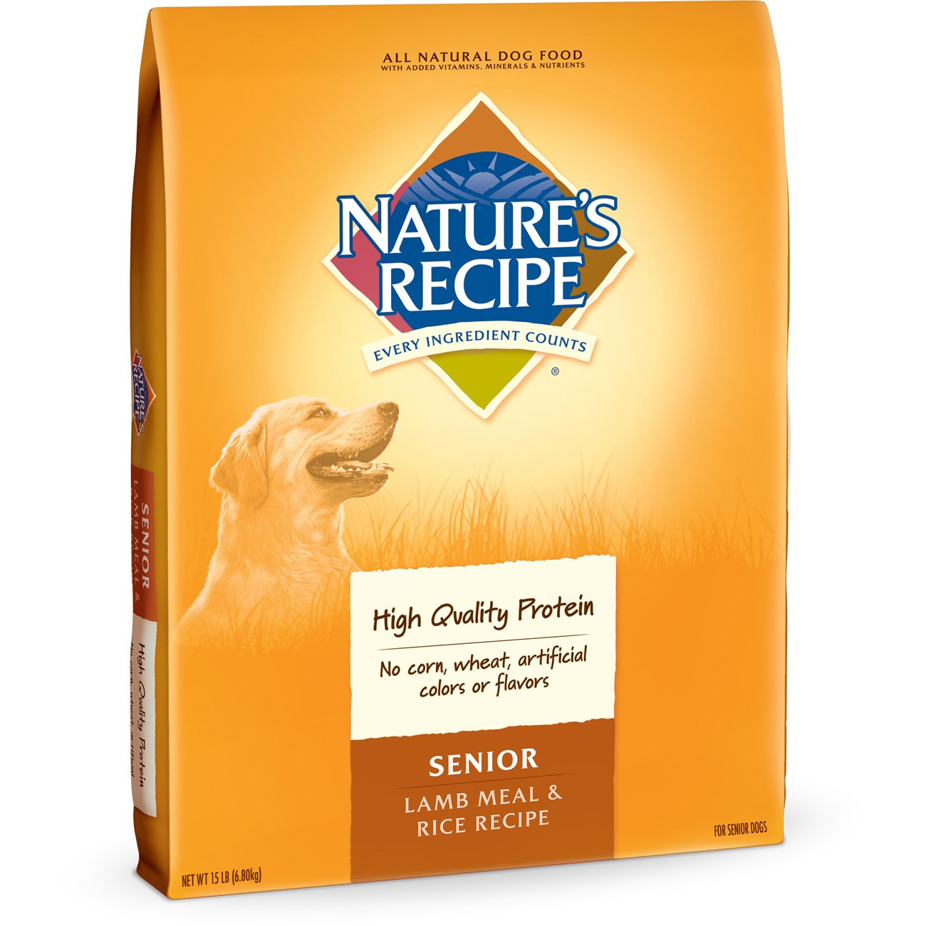 Nature's Recipe Senior Dry Dog Food