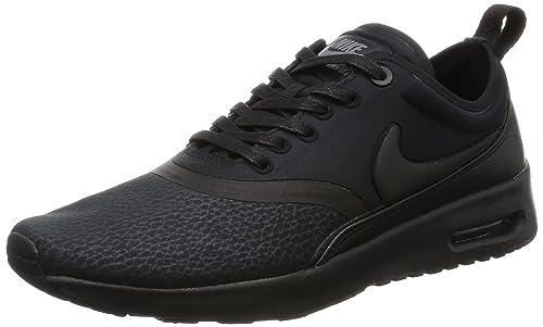 daecb34460 Nike Women's Air Max Thea Ultra Prm Black/Black Cool Grey Running Shoe 6  Women
