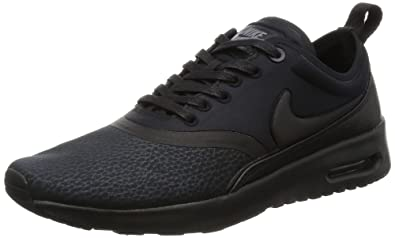 nike air max thea women's all black