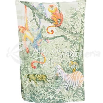 RP toalla playa Esponja tamaño maxi tropical-stampa digitale-made in Italy – cm