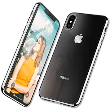 coque iphone xs contour noir