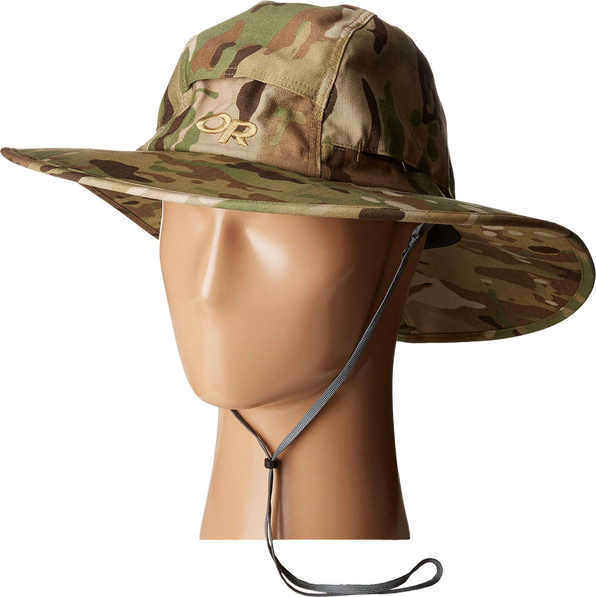 89a839ae205bcc Details about Outdoor Research Sombriolet Sun Hat Camo, Multicam, Large