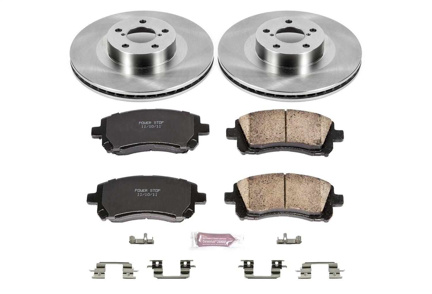 Autospecialty KOE2369 1-Click OE Replacement Brake Kit