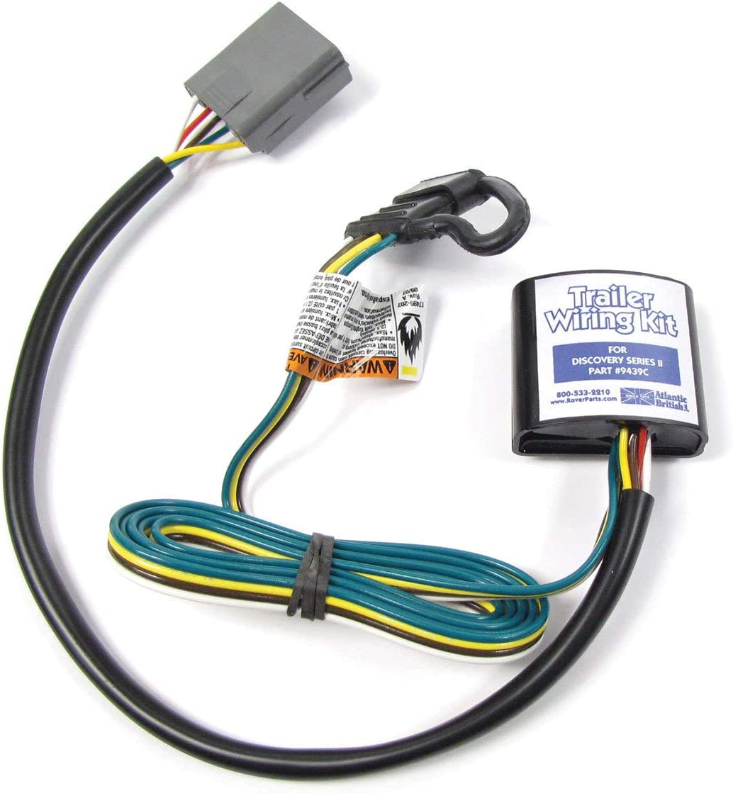 Amazon.com: Trailer Wiring Kit, Easy Installation, YWJ500120 by Atlantic  British for Land Rover Discovery 2 (1999-2004): AutomotiveAmazon.com