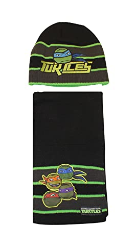 Image Unavailable. Image not available for. Colour  Boys Teenage Mutant Ninja  Turtles Winter Hat ... f2d9d1e1631