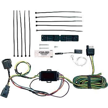amazon com 2007 2014 jeep wrangler mopar tow vehicle wiring harness rh amazon com