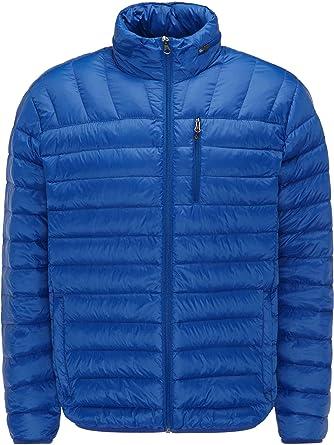 Hawke & Co Herren Daunenjacke Übergangsjacke Ultra leicht Down Jacket Steppjacke für Winter und Herbst