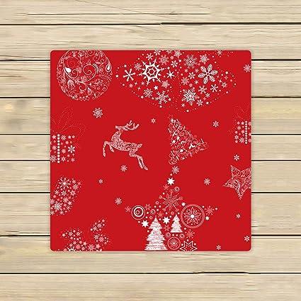 Custom Navidad toallas, de Navidad Feliz Navidad renos Rojo playa toalla de toallas de ducha