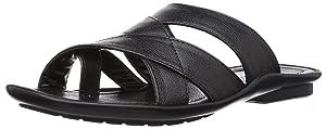 PARAGON Vertex Plus Men's Black Flip-Flops
