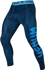 Venum Nightcrawler Compression Spats, Blue, X-Large