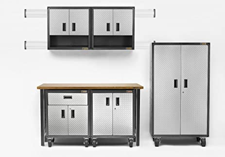 Amazon.com: Ready-to-Assemble Mobile Storage Cabinet: Home Improvement