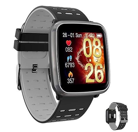 AZWE Smartwatch, Fitness Tracker Smart Watch Impermeable ...