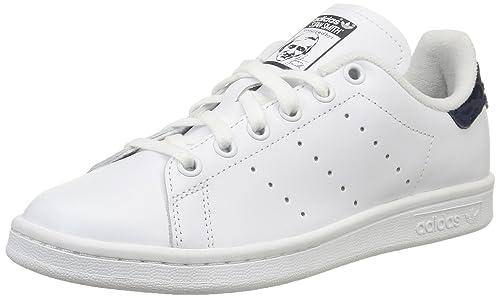 watch 67fe1 4df47 adidas Originals Stan Smith S77863, Scarpe da Tennis Donna, Bianco (Ftwr  White