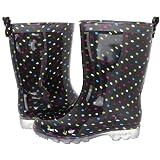 Amazon Price History for:Capelli New York Girls Silver Glitter Rain Boot