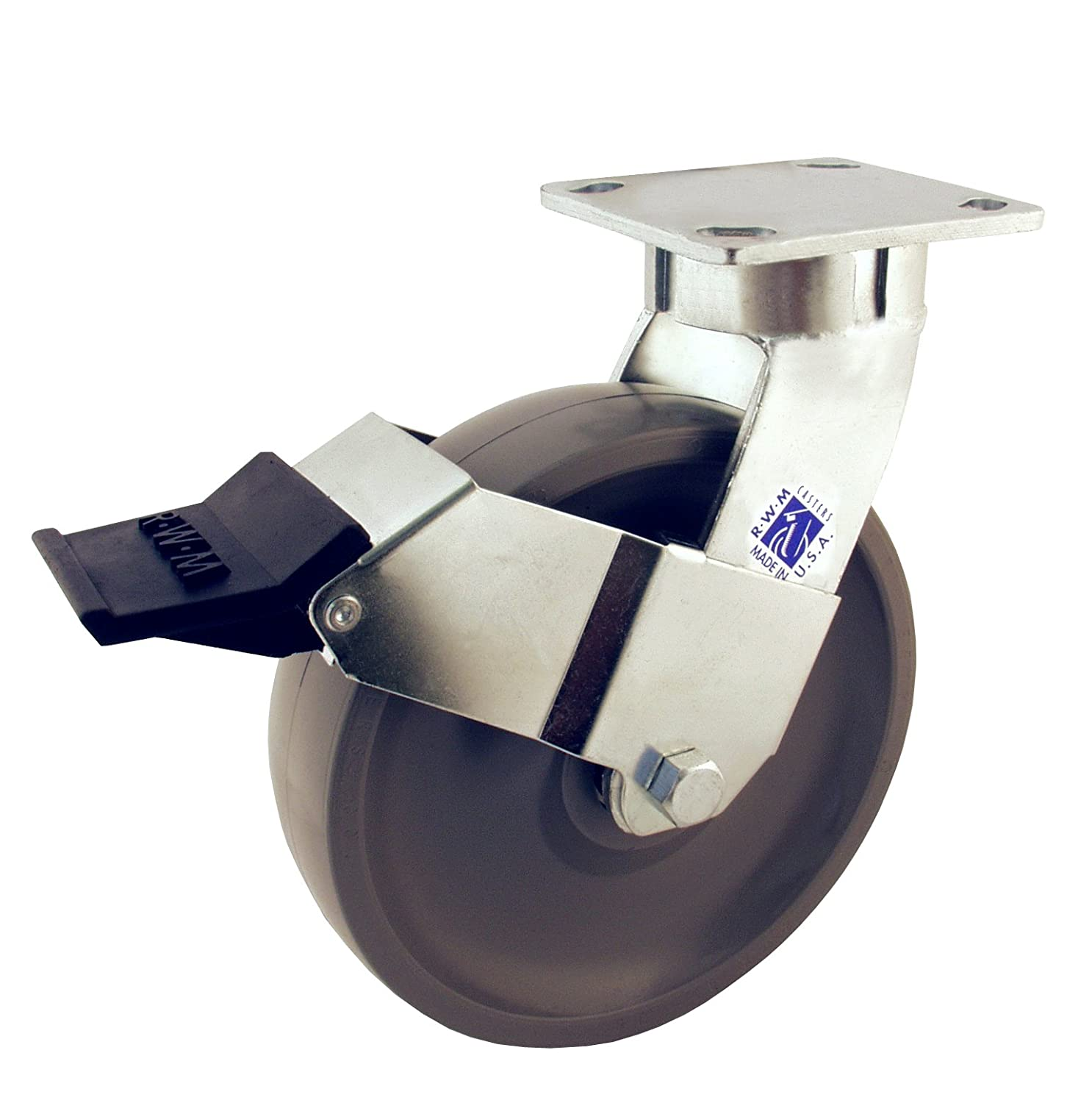 Hot Sale 2017 Rwm Casters 65 Series Plate Caster Swivel