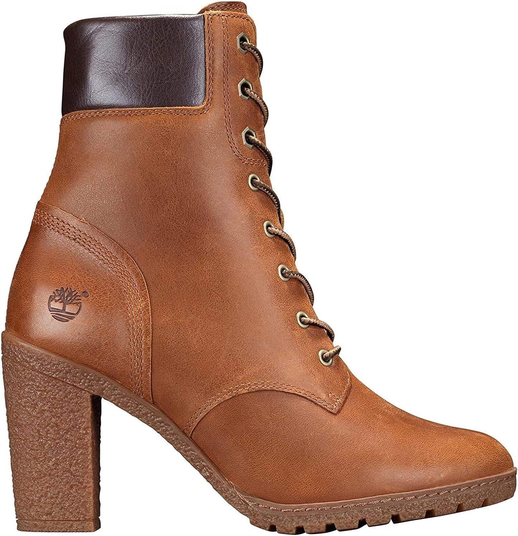 Timberland Damen Glancy 6in Kurzschaft Stiefel, schwarz