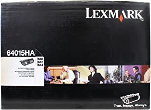 Lexmark 64015HA High Yield Return Program Print Cartridge, Black