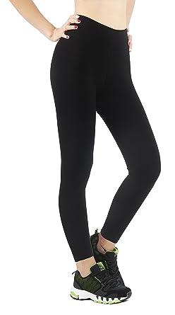 Chaud Molletonné Legging Hiver Uni Légèrement Femme Ilovesia Automne tshrCdxQ