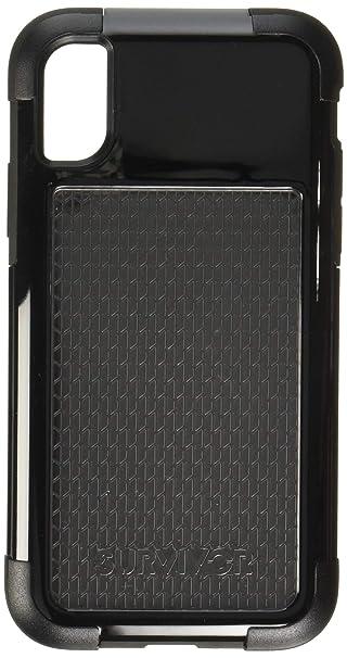 brand new d4382 736e1 Amazon.com: Griffin Survivor Fit Case for iPhone X (Black/Black ...