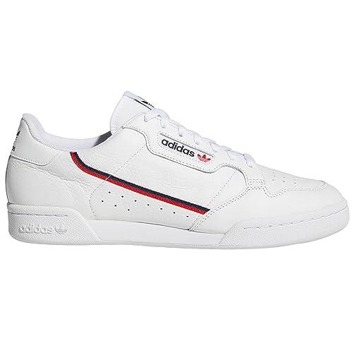 Tennis White Scarpe 80 Adidas Uomo Sneaker Continental Per n1BYRRwq