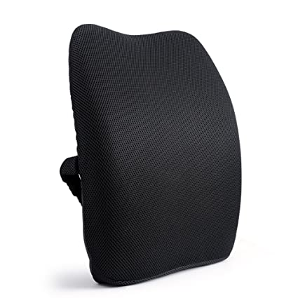 Orthopedic Memory Foam Lumbar Back Support Cushion Pillow For Lower Back  Pain,Perfect For Recliner