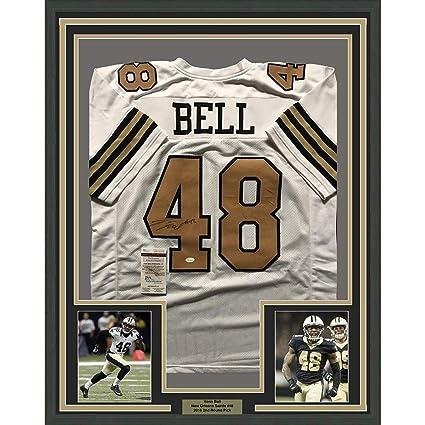 69fa4d81 Vonn Bell Autographed Jersey - FRAMED 33x42 Color Rush COA - JSA Certified  - Autographed NFL