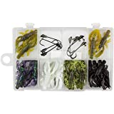 Trout Magnet Trout Slayer Kit - 20 Crawdad Bodies and 8 Size 6 Long Shank Hooks