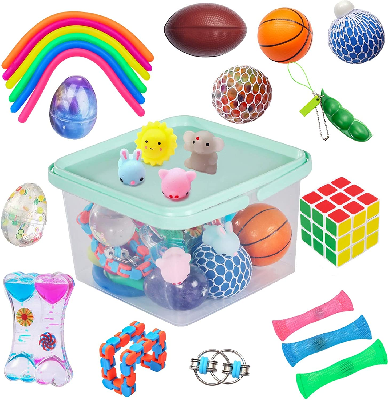 5pcs Kids Children Sensory Training Balance Pods Massage Sport Game Toys