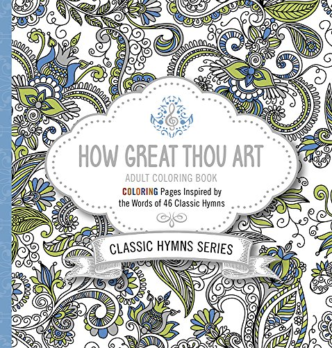 How Great Thou Art Adult Coloring Book Coloring Pages